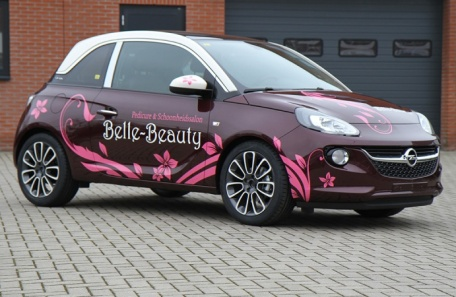 Belle Beauty autobelettering