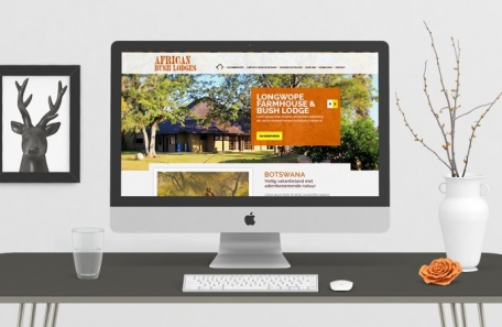 African Bush Lodges Website