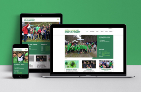 AV Scheldesport Website
